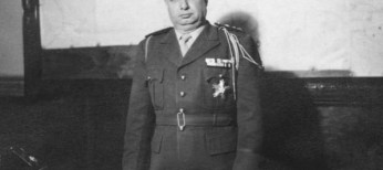 A picture dated 1948 in Damascus of General Hosni